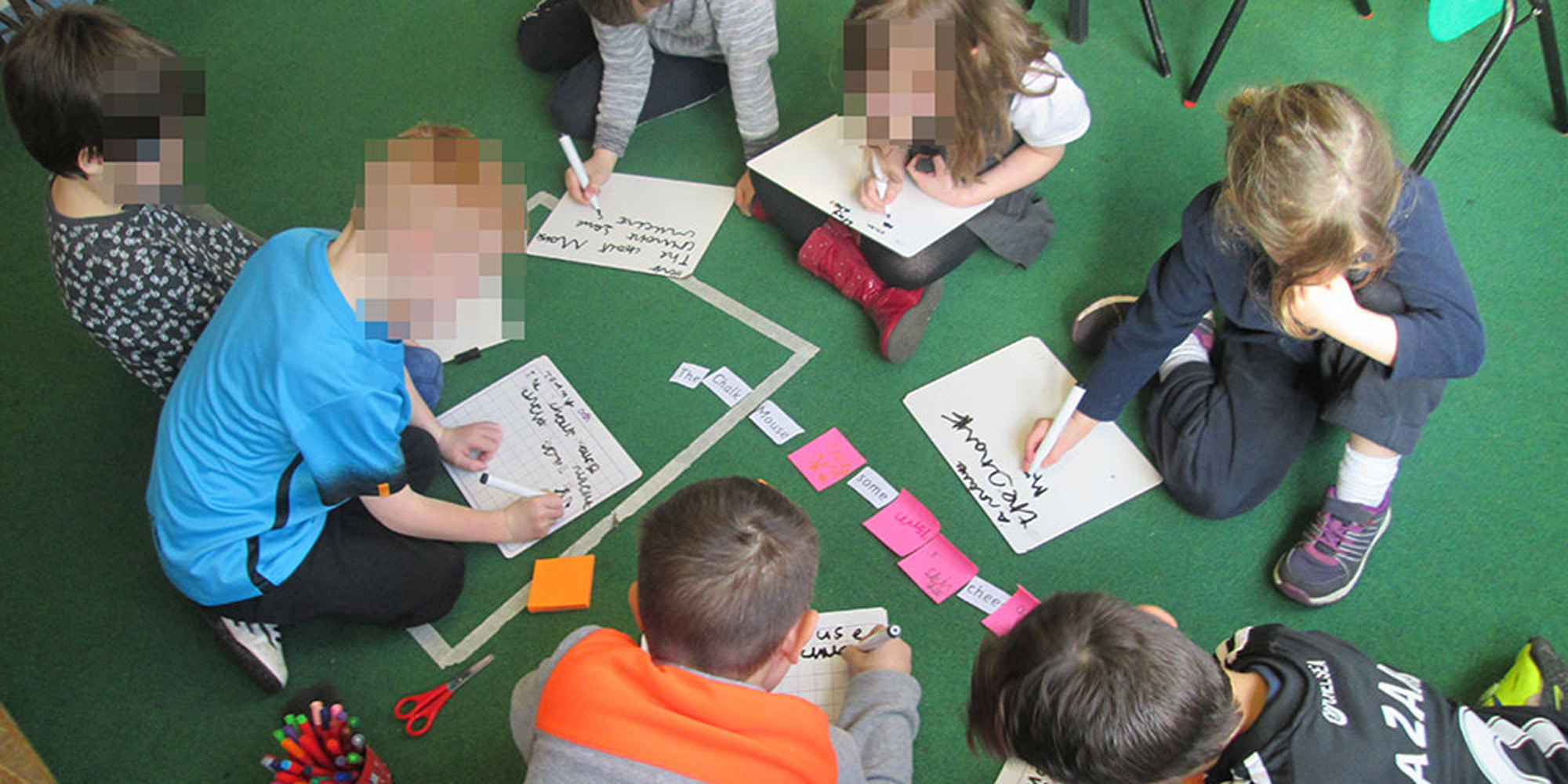 Collaborative Classroom Writing ~ Collaborative learning within the classroom